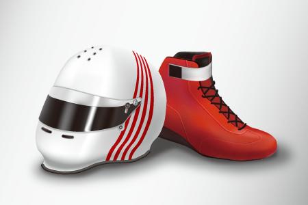 ヘルメット&ブーツ イメージ